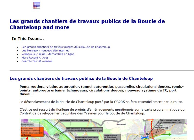 C'est@verneuil - newsletter