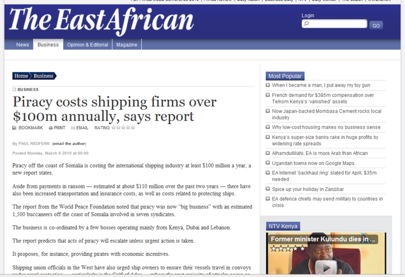 East african piracy