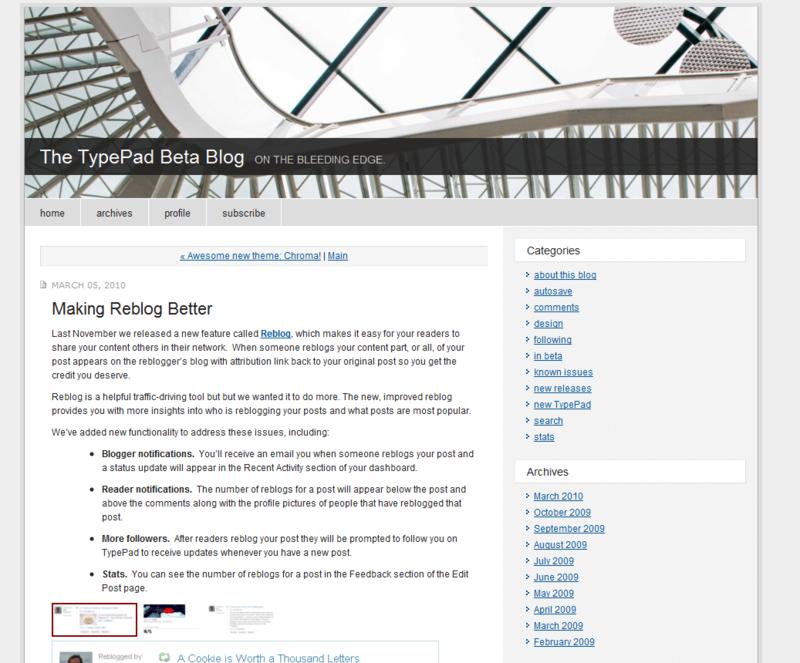 Typepad reblog