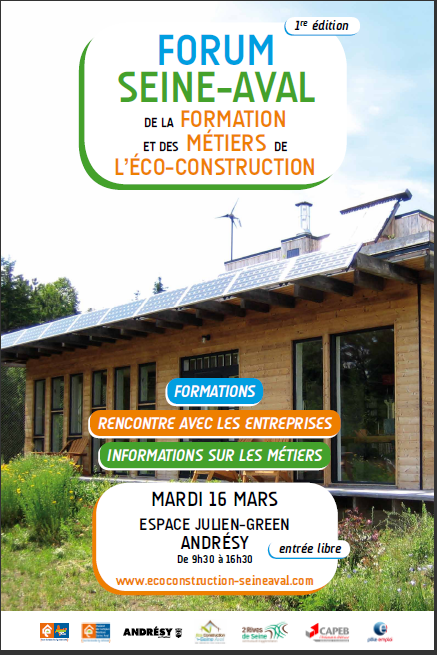 Forum eco-construction seine aval