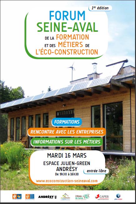 Forum eco-construction seine aval