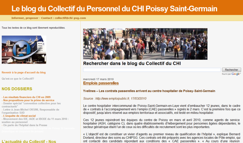Blog collectif chi poissy