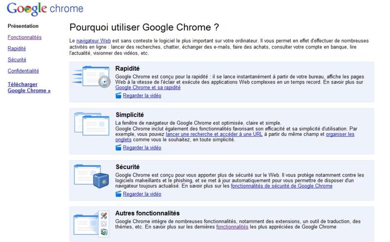 Google chrome version 6