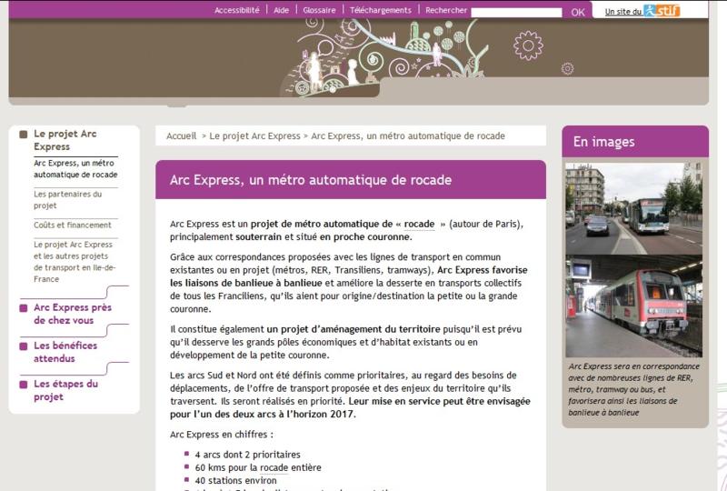 Arc express site