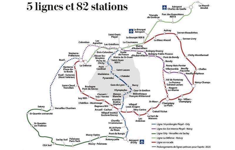 Grand paris - Plan-supermetro