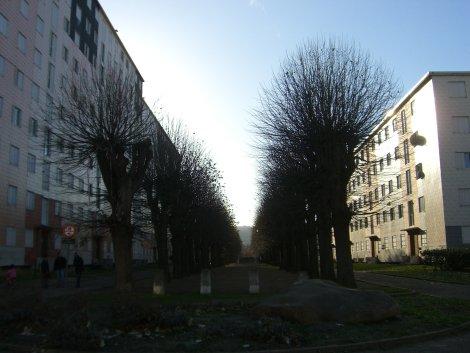 La cité de la Coudraie, à Poissy (DR)