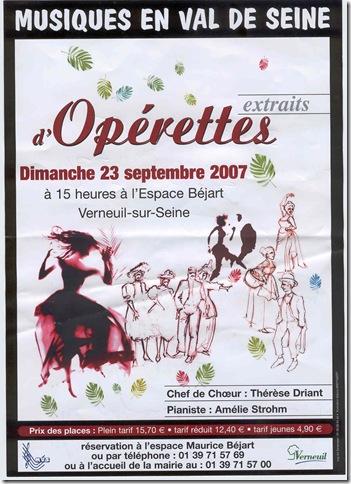 Affiche Béjart sept 2007