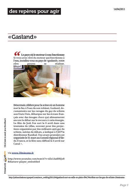 Gasland pdf