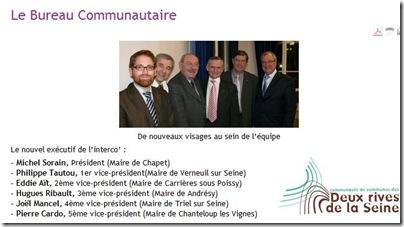 conseil communautaire 2008